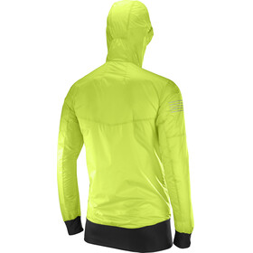 Salomon Fast Wing Hybrid Jacket Men Acid Lime/Black